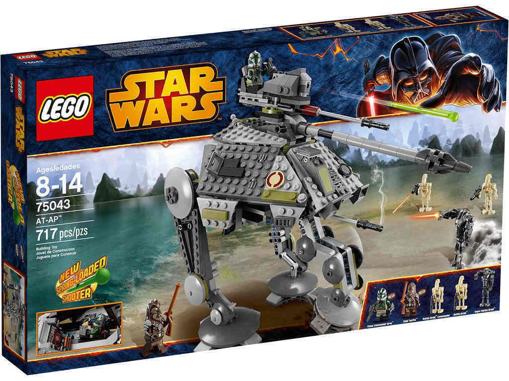NEUF LEGO ® star star star wars 75043-AT-AP NOUVEAU & OVP bruitage GREE tarfful Battle Droid ™ 05c433