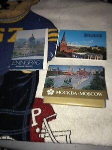 Lot-50-pcs-Vtg-1985-Soviet-Union-USSR-postcards-Moscow-Leningrad-Lenin-More