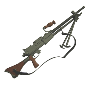 1//6 Battle Gear Toys Japonais LMG type 96 Light Machine Gun Pacifique