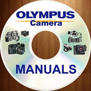 Olympus-OM-1-OM1-CAMERA-SERVICE-REPAIR-OWNER-PARTS-MANUAL-34-MANUALS-Set-CD