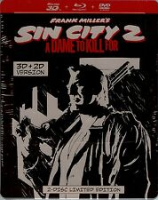 Frank Miller's Sin City 2: A Dame to Kill For 3D SteelBook (Netherlands Import)