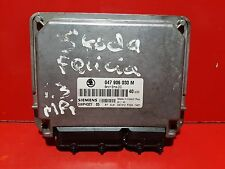 SKODA FELICIA 1.3i CALCULATEUR MOTEUR REF 047906030M 5WP4327