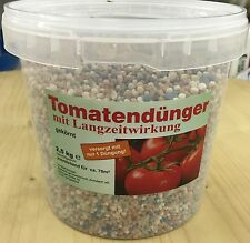 Tomato fertilizer 2,5 kg in a bucket, NPK Vegetables Garden mineral