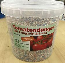 Tomaten-Dünger 2,5Kg im Eimer, NPK Dünger Tomate Gemüse Garten mineral