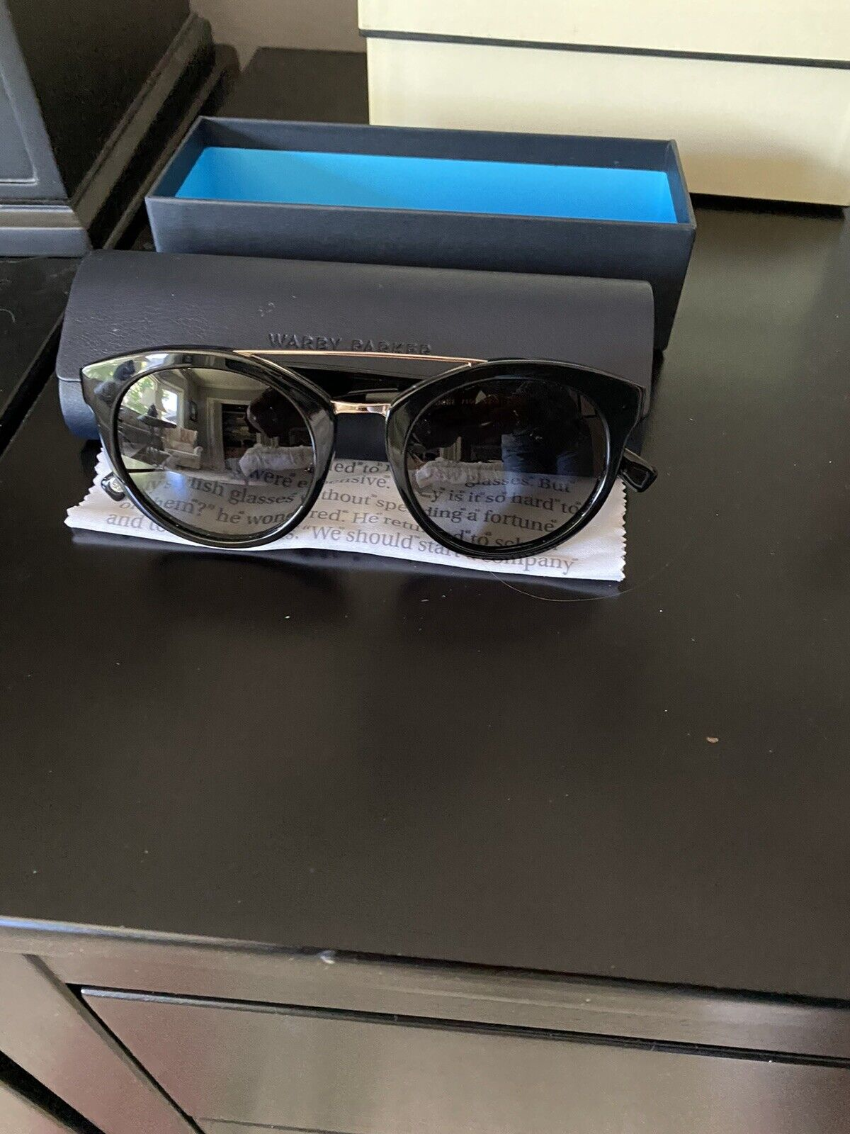 Warby Parker Winnie Sunglasses (made In Italy) - image 1