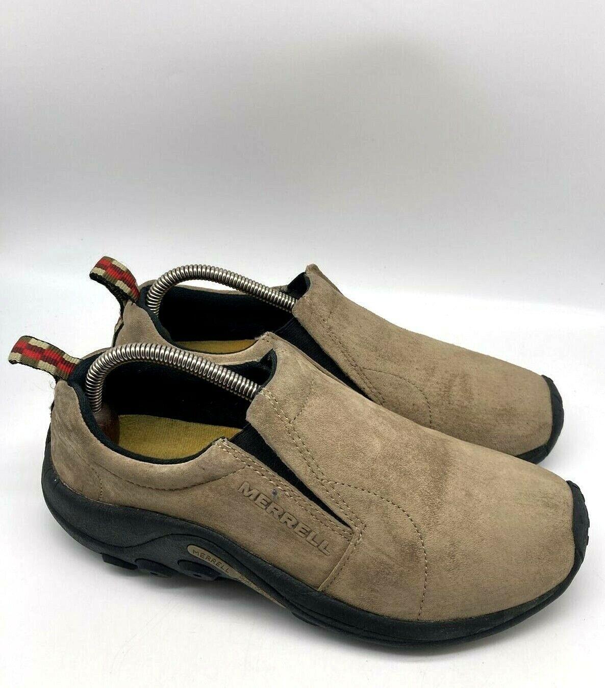 Merrell Jungle Moc Chaussures Femme à Enfiler en daim chaussures de randonnée Marron Taille 9.5 EU 40.5