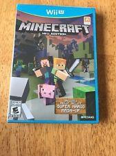 Minecraft - Nintendo Wii U Edition - NEW & Sealed!