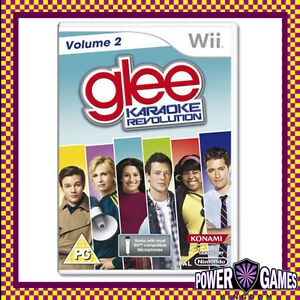Karaoke-Revolution-Glee-Volume-2-Nintendo-Wii-Brand-New