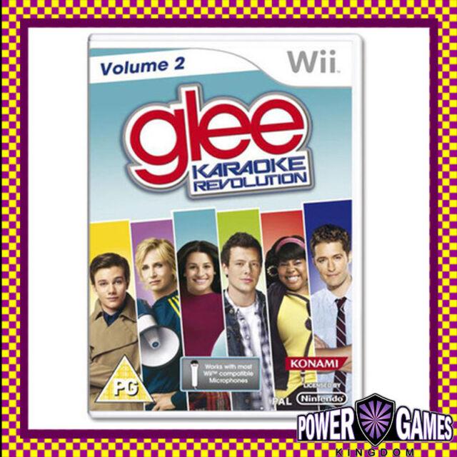 Karaoke Revolution Glee Volume 2 (Nintendo Wii) Brand New