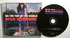 "DIVA SURPRRISE FEAT. GEORGIA JONES ""On The Top Of The World"" 6-Trck-Maxi-CD 1998"