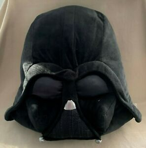 Disney Star Wars Darth Vader Slippers Shoes Black Large Mens 11-12 Womens 11-14