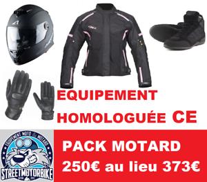 PACK-MOTARD-FEMME-CASQUE-BLOUSON-GANTS-CHAUSSURE-homologuee-CE