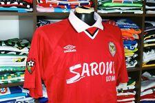 SC Salgueiros home 2000/01 Match Worn shirt - T.CRUZ #5 - Portugal-Umbro-Jersey
