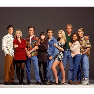 Beverly Hills 90210 [Cast] (60477) 8x10 Photo