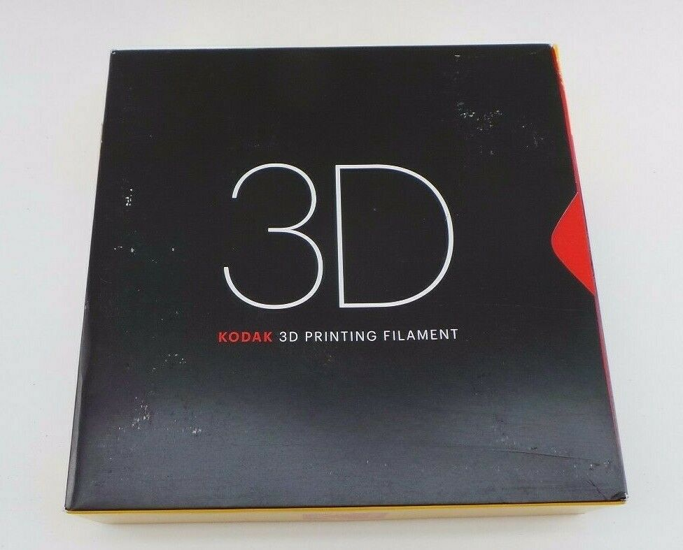 Kodak 1.75mm PLA + Filament (750g, Black 6c) 114041-1e (R) BY-11
