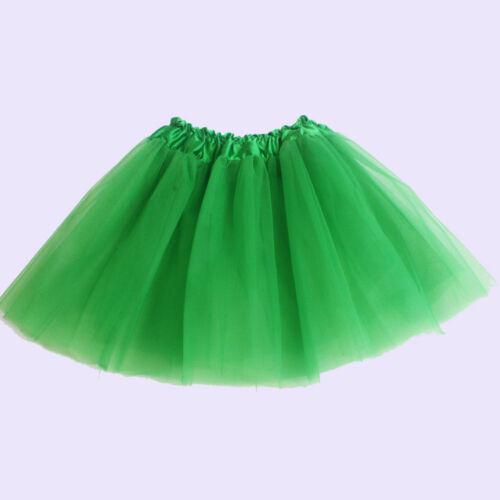 Cute Girls Tutu Ballet Dance Dress Party Skirt Kids Custume Princess Tulle Skirt