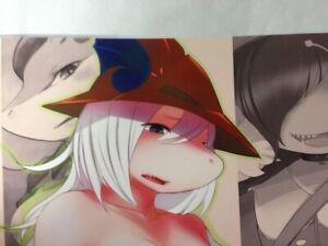 Doujinshi furry Final Fantasy 9 Freija etc. (B5 14pages) SIZPICO #3 EUPHORIC