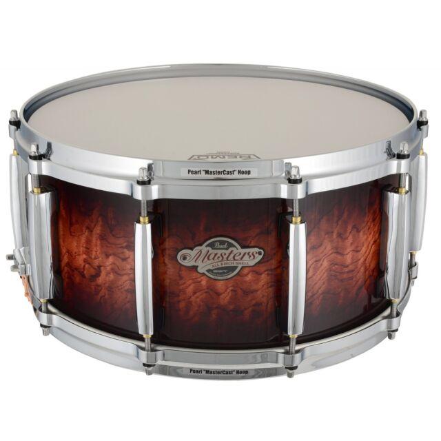 Pearl Masters BCX Birch Snare Drum 14 X 6.5 In. Lava Bubinga for ... cc5d7ecfa8