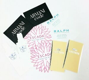 10-x-Duftkarten-10-x-perfumed-card-10-x-carte-parfumee-LOT-017