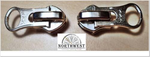 10 curseurs-Verrouillage Nickle YKK curseurs utiliser pour # 8 bobine fermeture éclair