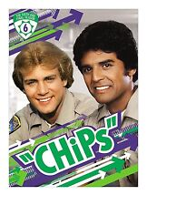 CHiPS : COMPLETE SEASON 6  -  DVD - Region 2 UK Compatible - Sealed