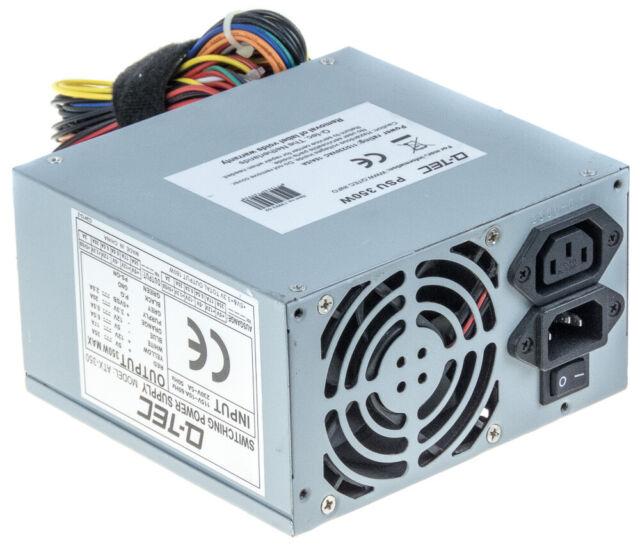 Q-TEC ATX-350 350 Watt Power Supply