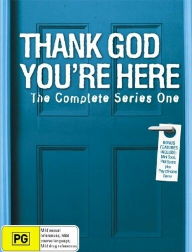 1 of 1 - Thank God You're Here : Complete Season One 1 - NEW DVD series - fast free post