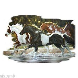 Spray-Paint-Horse-HEAT-PRESS-TRANSFER-for-T-Shirt-Tote-Sweatshirt-Fabric-242f