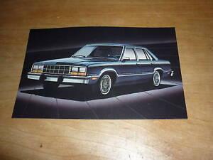 1983 Ford Fairmont Futura