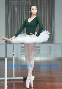 aa9f6b3d6 Image is loading Ladies-Professional-Classical-Ballet-Tutu-5Layers-Hard- Organdy-