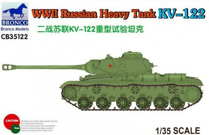 Bronco Bronco Bronco 1 35 WWII Russian Heavy Tank KV-122 CB35122 993f50
