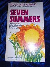 SEVEN SUMMERS by MULK RAJ ANAND - HIND POCKET BOOKS - P/B - UK POST £3.25