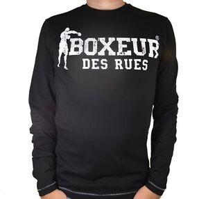 T shirt Boxeur Des Rues uomo maglia BXE 2655D manica lunga