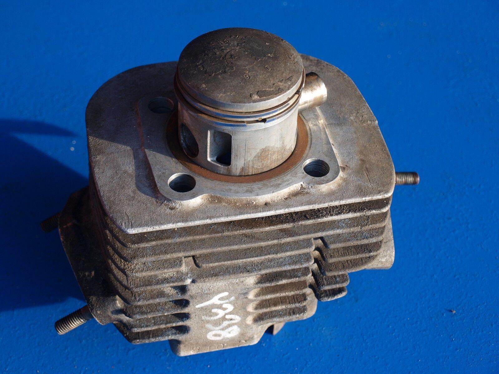 Vintage Yamaha Y338 Snowmobile RH Cylinder w Piston SL GP SW
