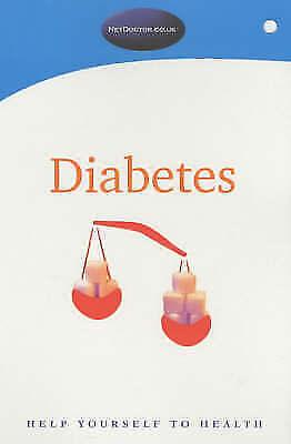 """VERY GOOD"" Diabetes (NetDoctor), Netdoctor, Book"