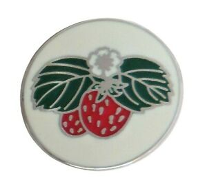 Strawberry Pin Badge