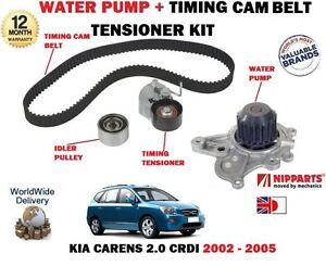 for kia carens 2.0 crdi d4ea 2002-2005 timing cam belt kit + water