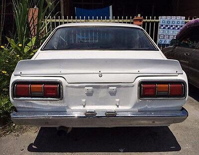 For JDM Corolla TE27 coupe Mango Spoiler flush wing ke25 duck bill ducktail