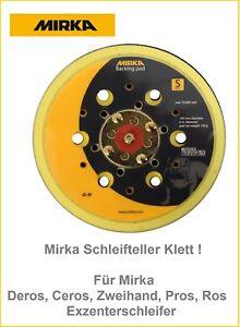 Mirka-Schleifteller-Klett-150-mm-f-Mirka-Deros-Ceros-Zweihand-Pros-Ros-Exzenter