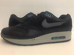 f556a062d55750 Nike Air Max 1 Premium Obsidian Navy Blue Fury Black Carbon 875844 ...