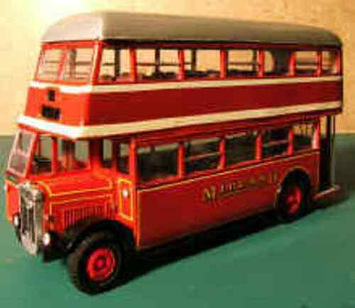 WTP14 Midland Red Double deck bus kit in resin