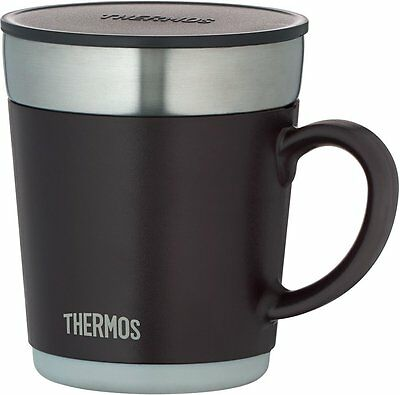 Thermos Stainless Steel Thermal Mug with Lid 350mL / 11.8 floz JDC-351 ESP Brown