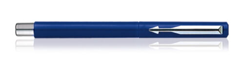Parker Vector Calligraphy Standard CT Fountain Pen Blue Body Free Ink cartridge
