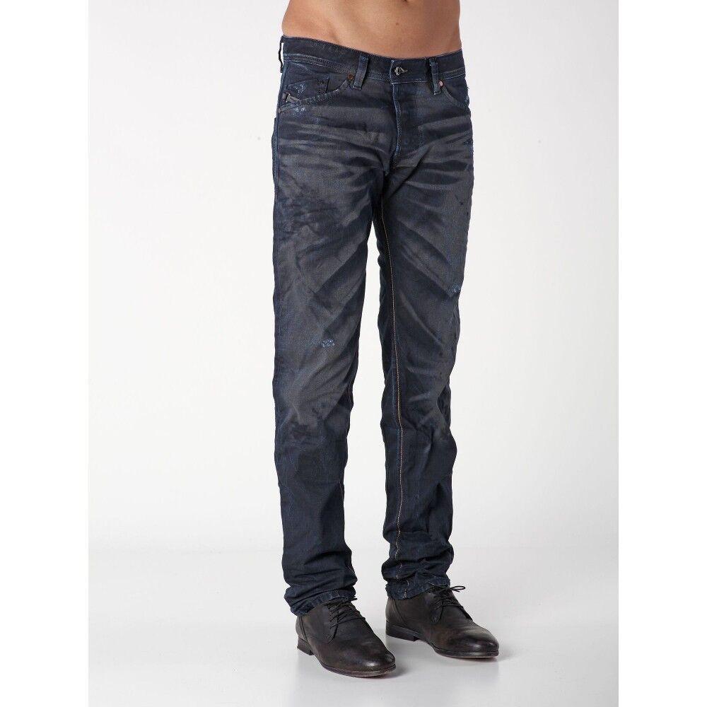 NWT Diesel SHIONER Slim Skinny 0824Y DNA Men Jeans 27 x 30 Thavar  ITALY