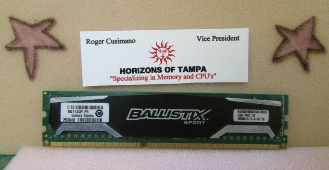 Crucial Ballistix Sport 4GB BLS4G3D1339DS1S00 PC-12800U DDR3-1333MHz