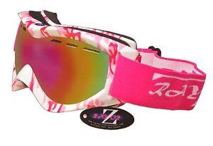 71f16124a36 Image is loading Rayzor-Camo-Ski-Snowboard-Goggles-100-UV400-Antifog-