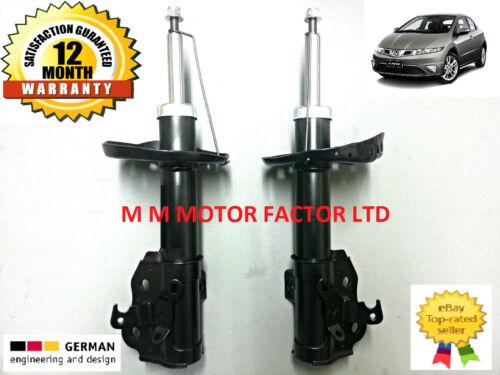 Honda Civic FN FK Mk8 06- 1.4 1.8 2.0 2.2 CDTi Front Shock Absorbers Shockers x2