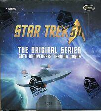 Star Trek 50th Anniversary Factory Sealed Hobby Box