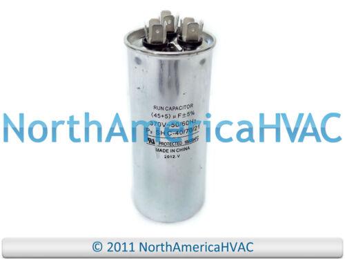 Carrier Bryant Payne HC98JA046 Replacement Run Capacitor 45uf 5uf 370VAC