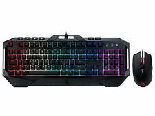Rosewill Gaming Keyboard / Mouse Combo RGB LED  Mem-chanical Keyboard FUSION C40